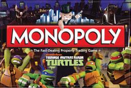 Boite du Monopoly Tortues Ninja - Teenage Mutant Ninja Turtles
