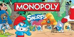 Boite du Monopoly The Smurfs - Les Schtroumpfs