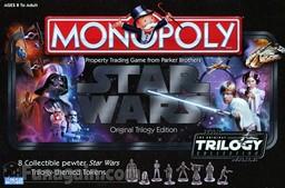 Boite du Monopoly Star Wars - Original Trilogy Edition