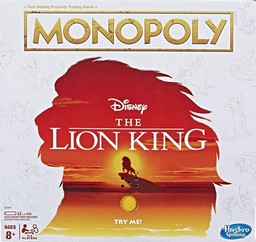 Boite du Monopoly The Lion King