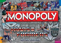 Boite du Monopoly Transformers - Retro Edition
