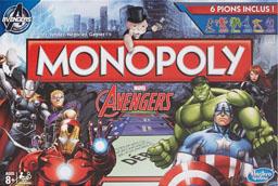 Boite du Monopoly Avengers