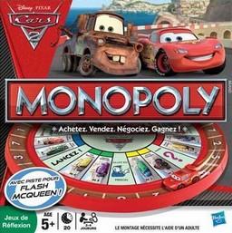 Boite du Monopoly Cars 2