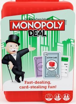 Boite du Monopoly Deal Shuffle