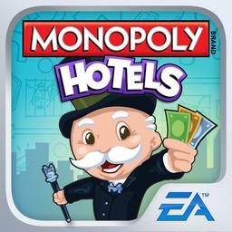 Boite du Monopoly Hôtels pour smartphone