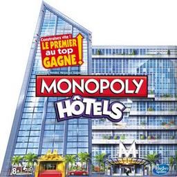 Boite du Monopoly Hôtels