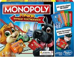 Boite du Monopoly Junior - Banque électronique 2018