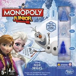 Boite du Monopoly Junior - Reine des Neiges