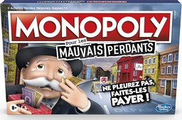 Boite du Monopoly Mauvais Perdants