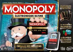 Boite du Monopoly Electronique Ultime - Ultimate Banking