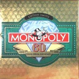 Boite du Monopoly 60e Anniversaire