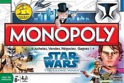 Boite du Monopoly Star Wars - The Clone Wars