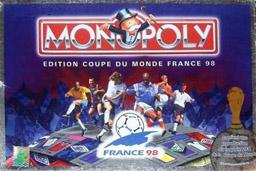 Boite du Monopoly Coupe du Monde France 98