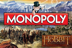 Boite du Monopoly Le Hobbit - Un Voyage Inattendu