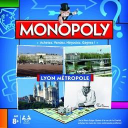 Boite du Monopoly Lyon Métropole