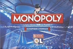 Boite du Monopoly Olympique Lyonnais