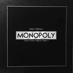 Boite du Monopoly Onyx Edition