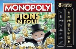 Boite du Monopoly Pions en Folie