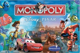 Boite du Monopoly Pixar