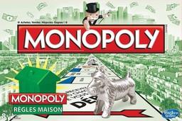 Boite du Monopoly Règles Maison