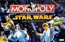 Boite du Monopoly Star Wars - La Saga