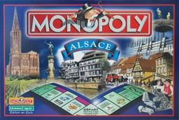 Boite du Monopoly Alsace
