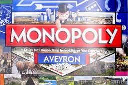 Boite du Monopoly Aveyron