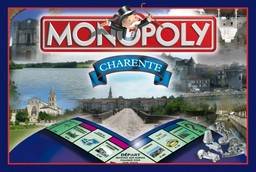Boite du Monopoly Charente