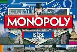 Boite du Monopoly Isère
