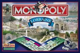 Boite du Monopoly Lorraine