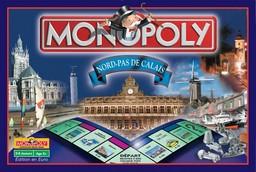 Boite du Monopoly Nord - Pas-de-Calais