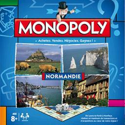 Boite du Monopoly Normandie