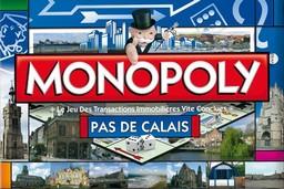 Boite du Monopoly Pas-de-Calais