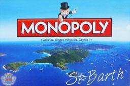 Boite du Monopoly Saint-Barth