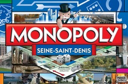 Boite du Monopoly Seine-Saint-Denis (93)