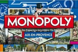 Boite du Monopoly Aix-en-Provence