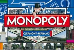 Boite du Monopoly Clermont-Ferrand (version 1)