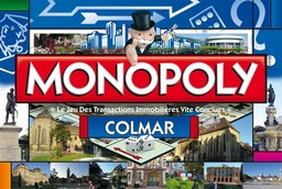Boite du Monopoly Colmar