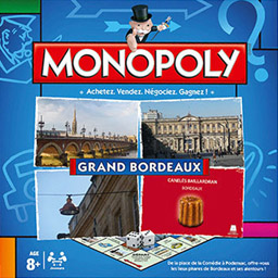 Boite du Monopoly Grand Bordeaux