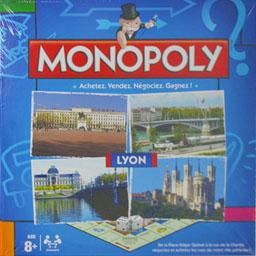 Boite du Monopoly Lyon (version 3)