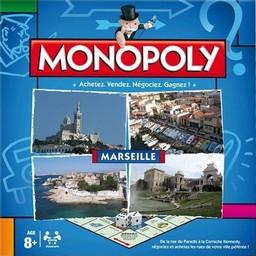 Boite du Monopoly Marseille (version 2014)