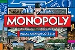 Boite du Monopoly Millau Aveyron Coté Sud