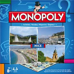Boite du Monopoly Nice (version 2014)