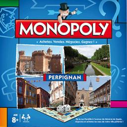 Boite du Monopoly Perpignan (version 2016)