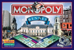 Boite du Monopoly Rennes