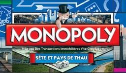 Boite du Monopoly Sète et pays de Thau