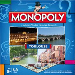 Boite du Monopoly Toulouse (version 2013)