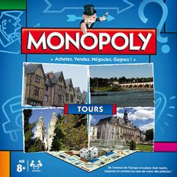Boite du Monopoly Tours (version 2016)