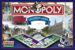 Boite du Monopoly Valenciennes