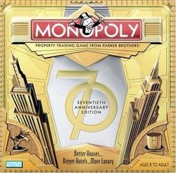 Boite du Monopoly 70e anniversaire